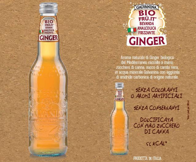 Ginger in Bottiglia