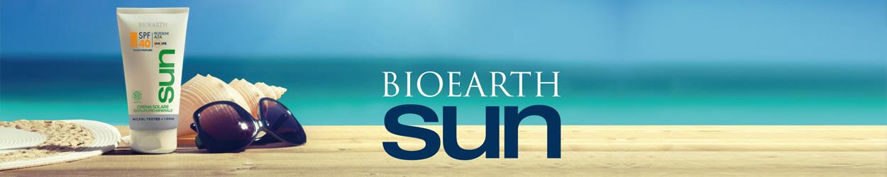 Bioearth Sun Naturale - Crema Viso Solare Colorata Spf 50+