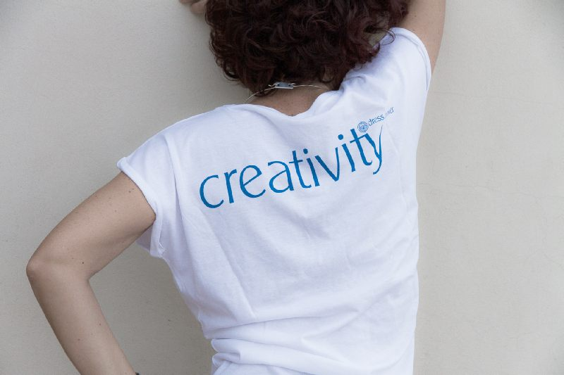 Dress Power T-Shirt - Creativity Uomo