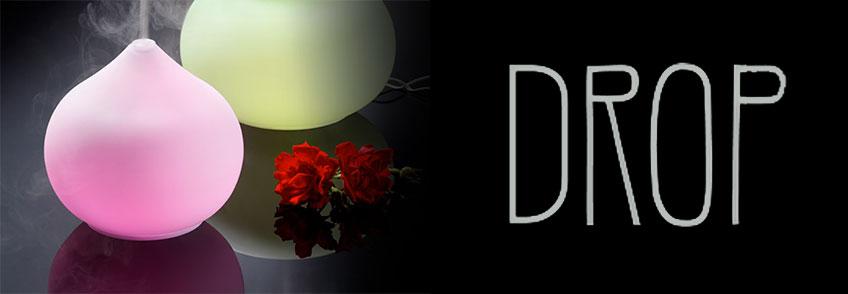 Lampada/Diffusore ad Ultrasuoni con Luce Colorata - Drop