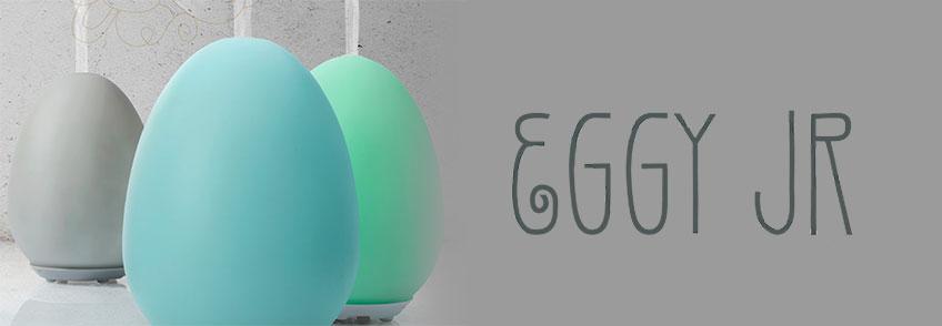Lampada Diffusore ad Ultrasuoni - Eggy Jr - azzurra