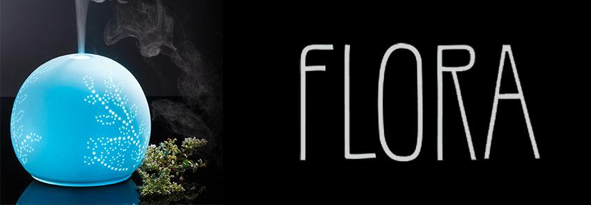 Lampada/Diffusore di Essenze ad Ultrasuoni - Flora