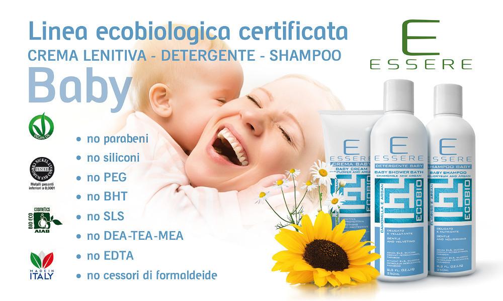 Linea Ecobiologica Baby - Shampoo Elicriso e Argan