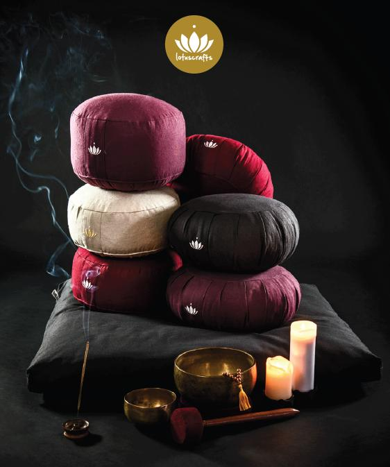 Cuscino Mezzaluna Shanti - Antracite
