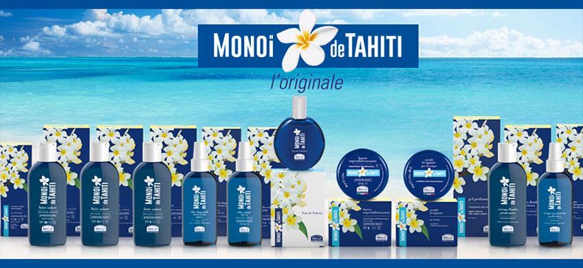 Crema Fluida Profumata Doposole - Monoi De Tahiti