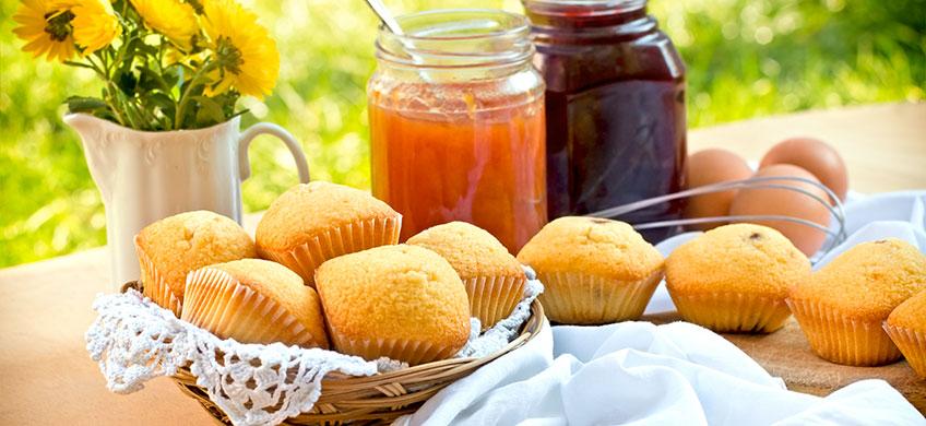 Mini Muffin all'Albicocca Bio - Senza Glutine