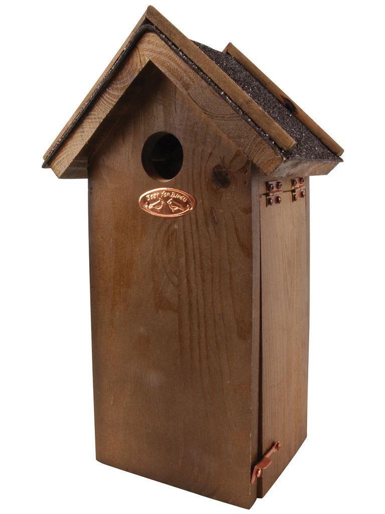 Casetta per Uccelli con Tetto Catramato