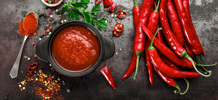 Salsa Messicana Piccante - Sauce Mexico Hot