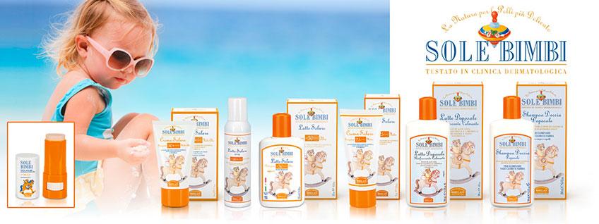 Crema Solare Protezione Media Spf25 - Sole Bimbi