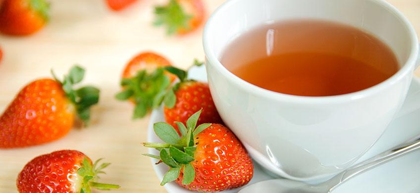 Tè Verde alla Fragola Bio