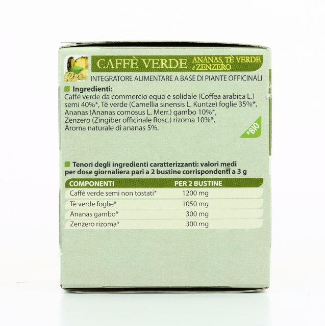 estratto di chicco di caffè verde di himalaya