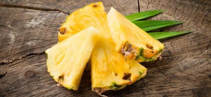 Curare le infiammazioni con l'Ananas