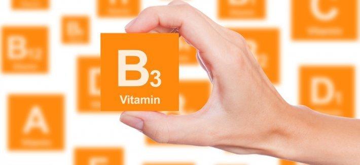 La vitamina B3 (o niacina)