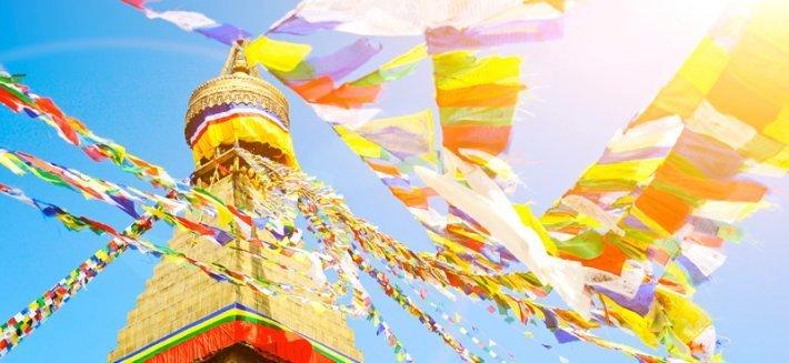 Bandiere Tibetane: preghiere senza tempo