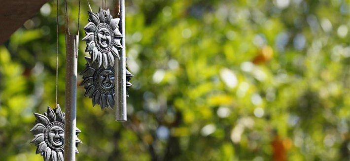 Le campane tubolari producono suoni armoniosi e rilassanti, stimolando il benessere.