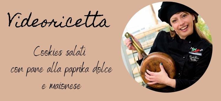 ricetta cookies salati paprika e maionese