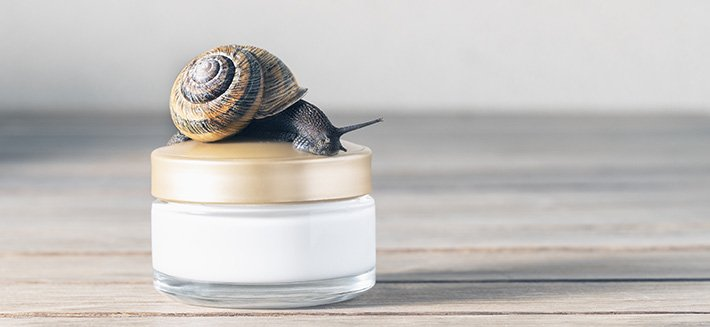 La crema bava di lumaca è un elisir di giovinezza per la pelle del viso ma non solo