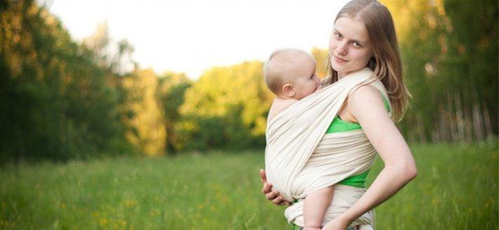 Fascia per bebè: scopri il vantaggio della serenità