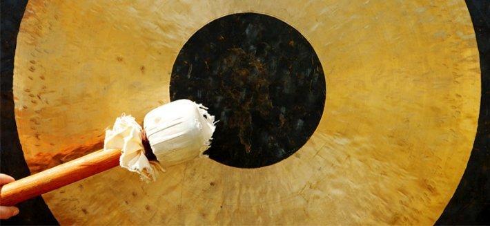 Il gong e la musica del benessere