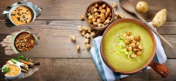 Zuppe, minestroni e vellutate: tante varianti del comfort food ideale per riscaldarsi nelle fredde serate autunnali