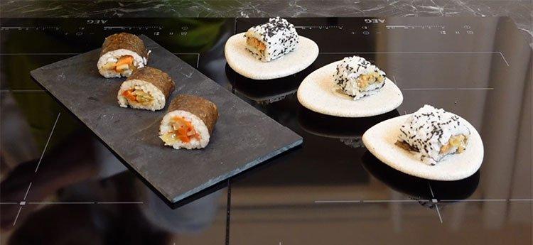 Sushi Vegano con Verdure - Videoricetta