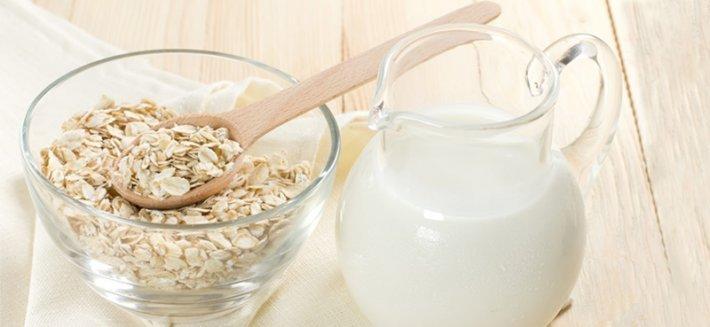 farina davena dimagrante con latte