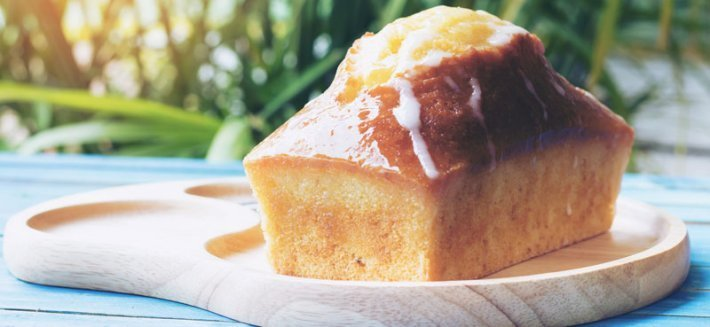 Plum Cake biologico per merenda