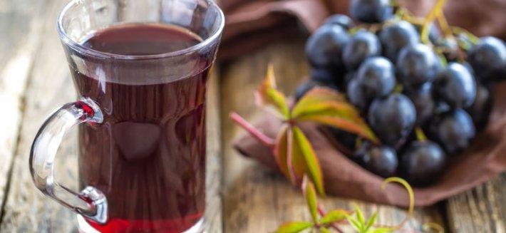 Succo d'uva: proprietà e benefici