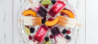 Ricetta Ghiaccioli con Yogurt e Succo di Frutta Biologico