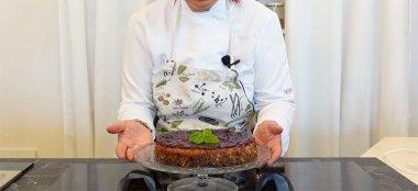 Cheesecake Vegana ai Frutti di Bosco - Videoricetta
