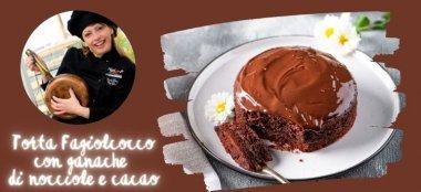 Torta Fagiolcocco con ganache di cioccolato e nocciole