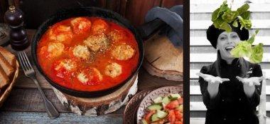 Bocconcini con sughetto di pomodoro e legumi