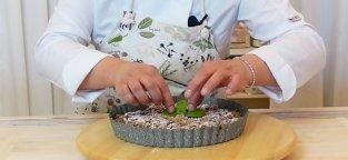 Torta Sbrisolona Vegana con Crema al Pistacchio - Videoricetta