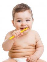Salviette e dentifricio per Bambino