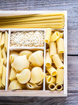 Pasta di Quinoa, Amaranto, Miglio e Orzo